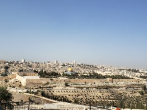 A View of Jerusalem from the Mount of Olives