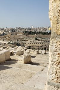 Graveyard on the slope of the Mount of Olives