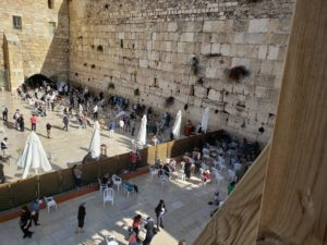 Western Wall of the Temple Mount in Israel