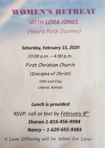 Retreat registration flyer