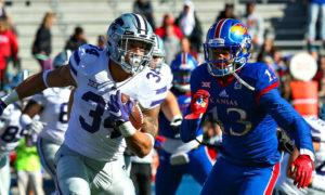 Whose side are you rooting for? Kansas State University vs Kansas University Football.